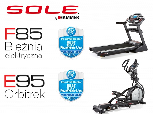 "SOLE by HAMMER F85 i E95 ""BEST BUY RunnerUp AWARD 2016"""