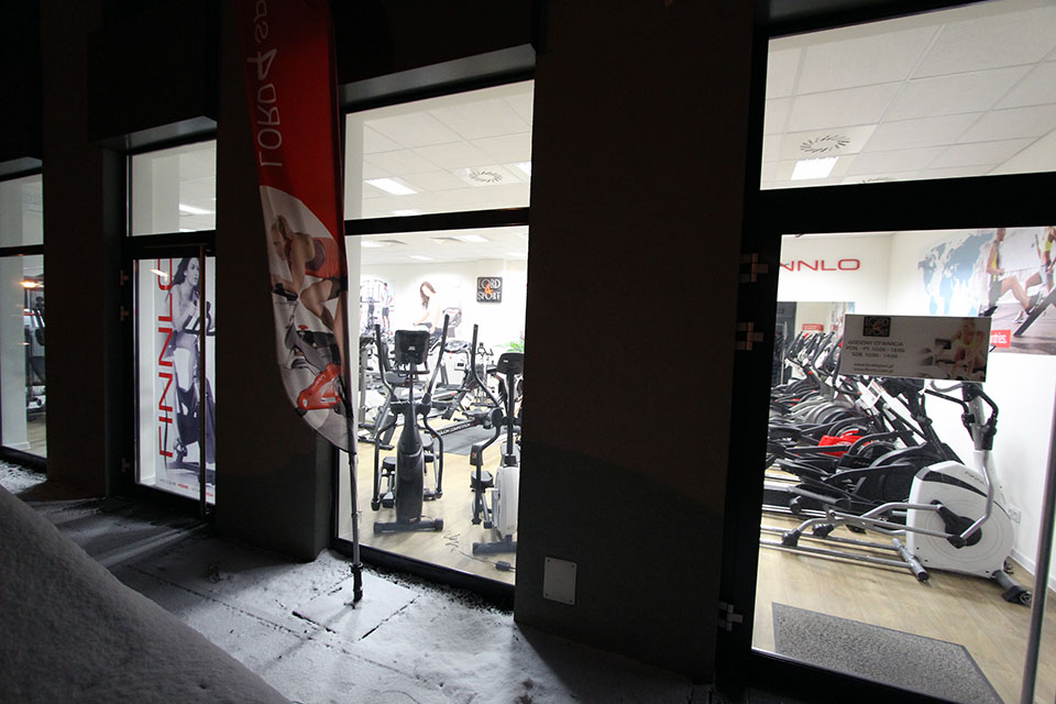 Salon w Krakowie