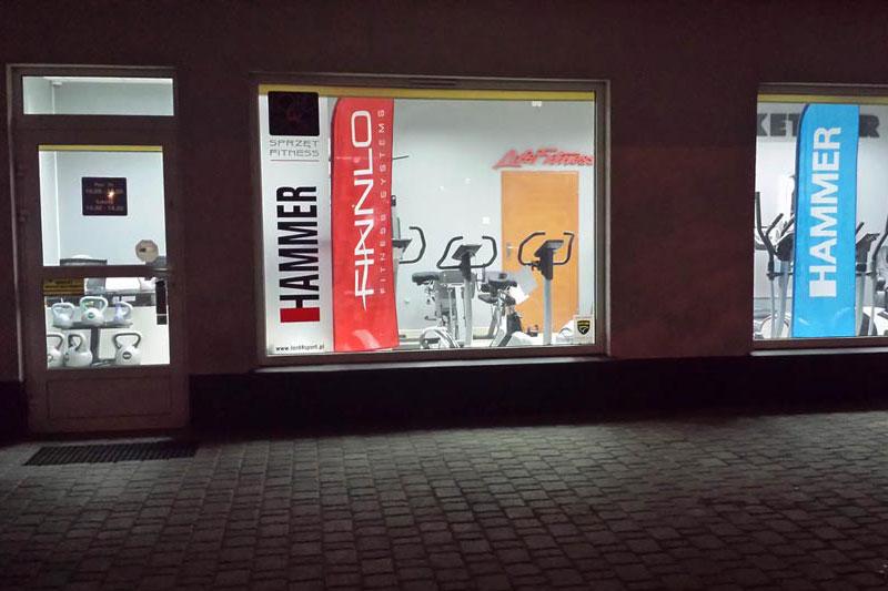 Salon w Łodzi