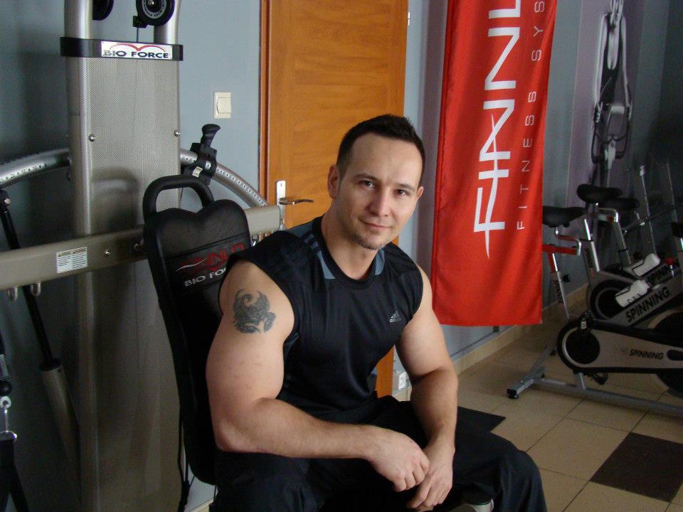 Trener personalny Jacek Zborowski
